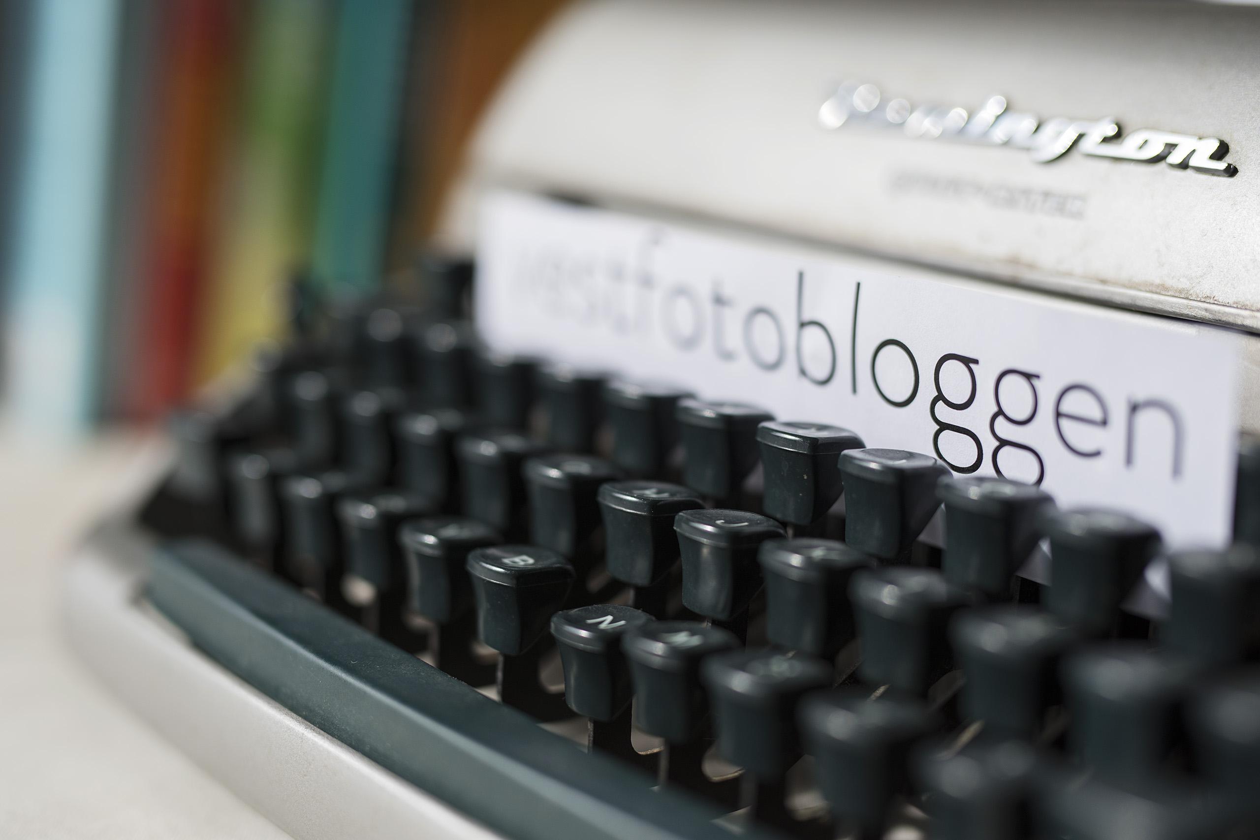 Vi stuper ut i bloggens verden