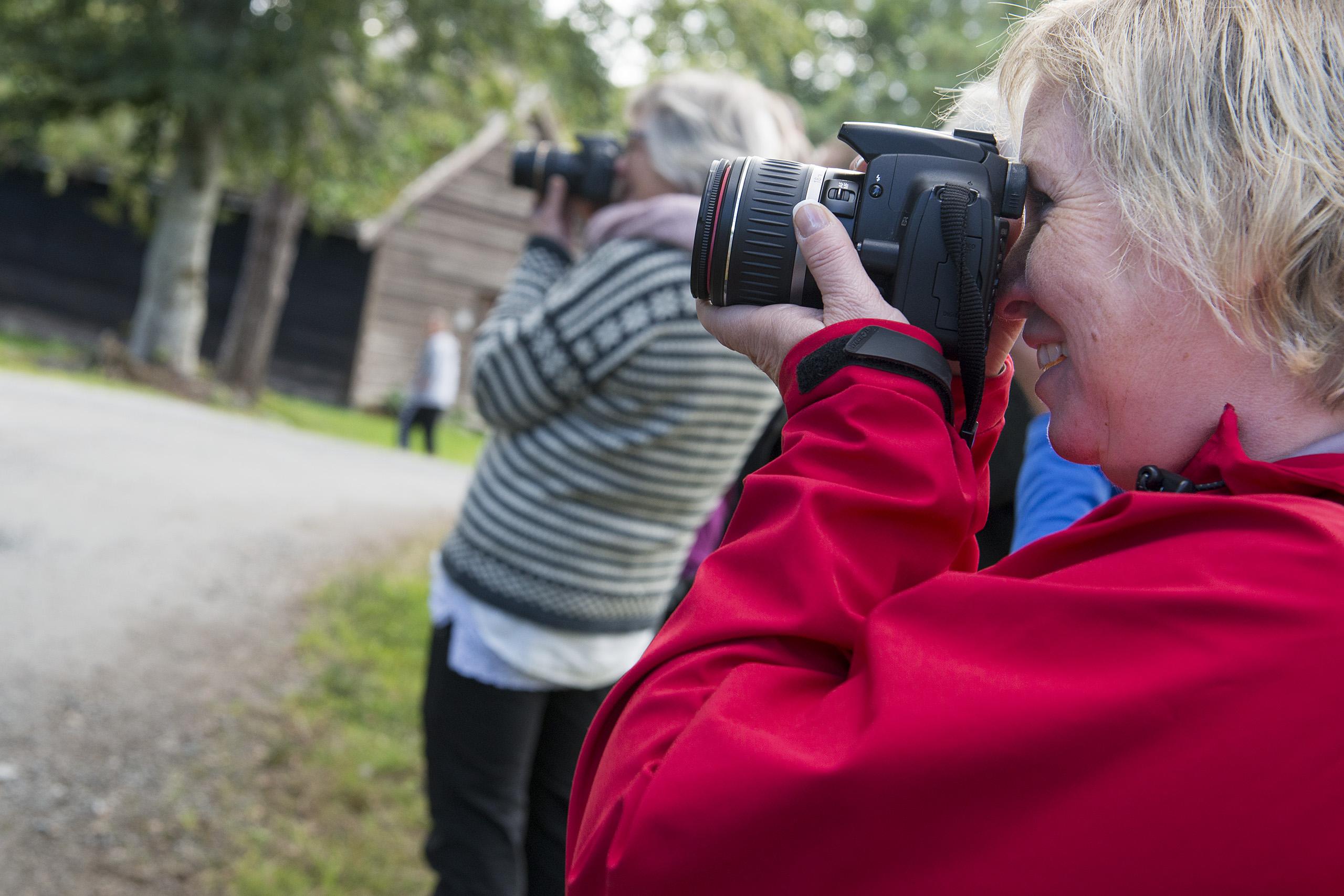 Gøy med første fotokurs på Stord